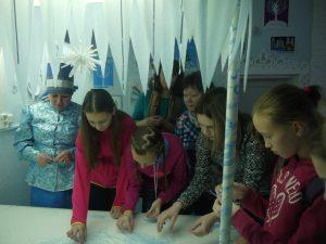 Мастер-класс по лепке снежинок